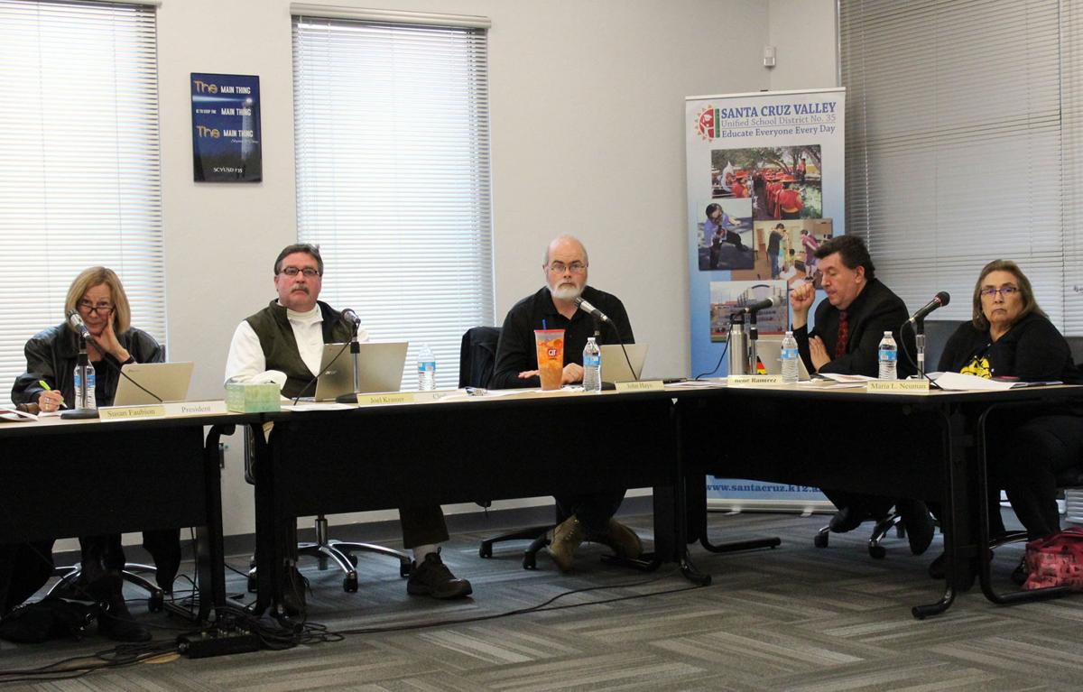 SCVUSD governing board