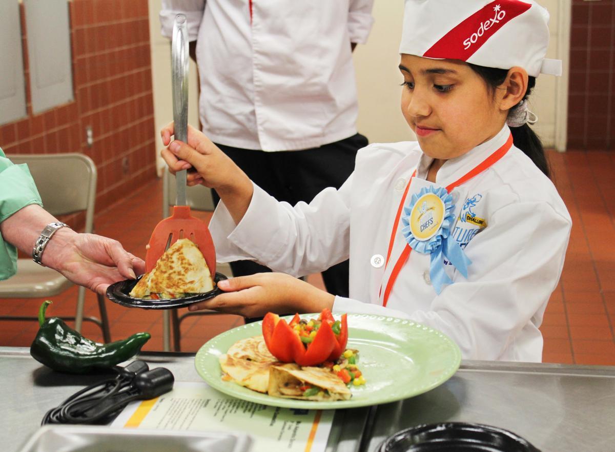 Future Chef - vegetable quesadillas