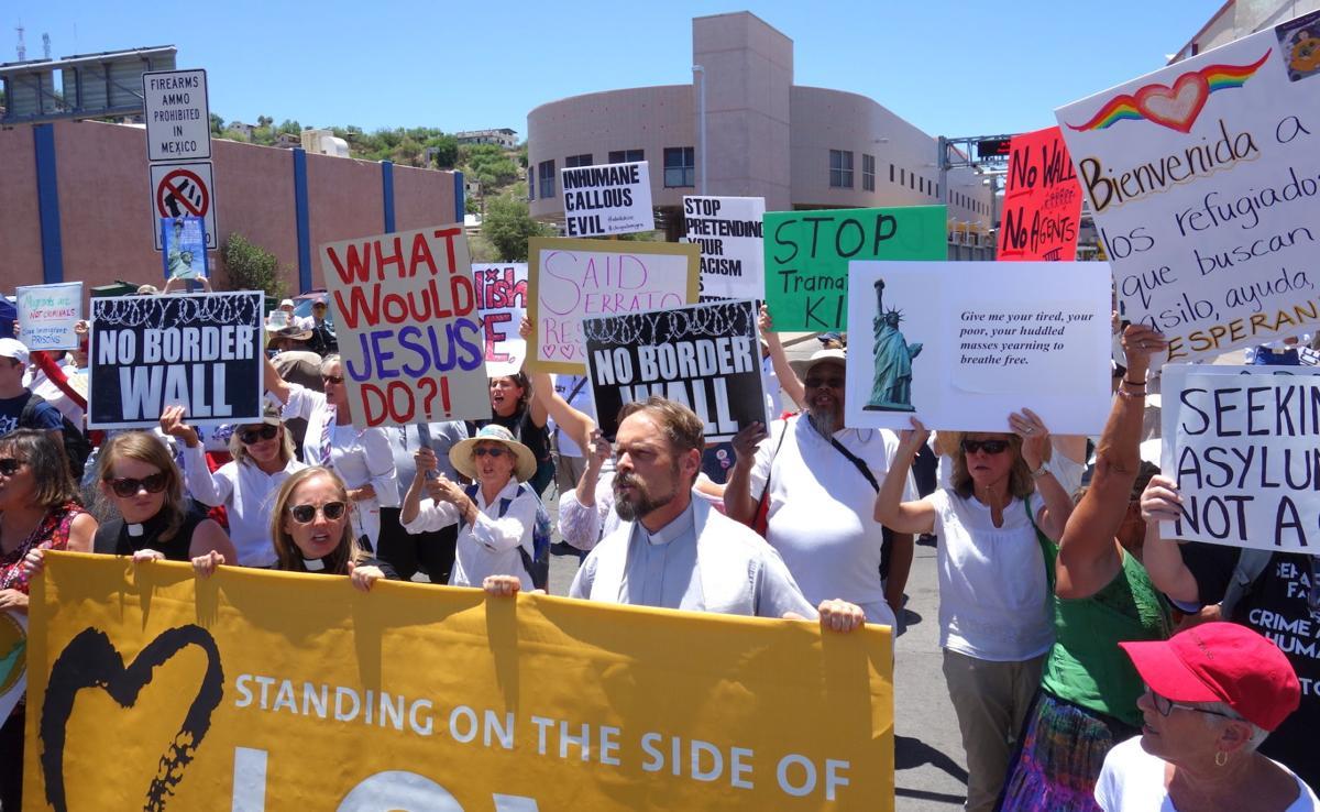 Port protest