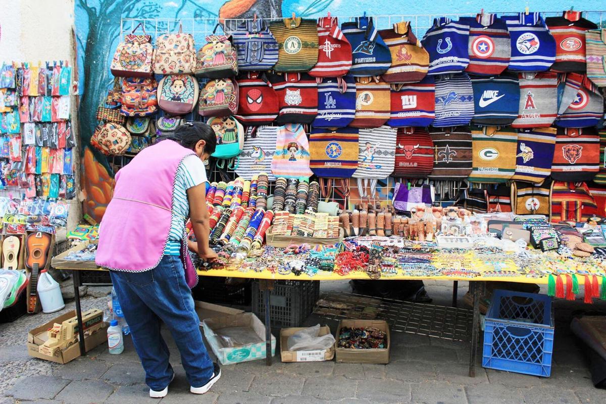 Mexican street vendor