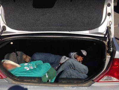 bp agents find migrants locked in car trunks local news stories