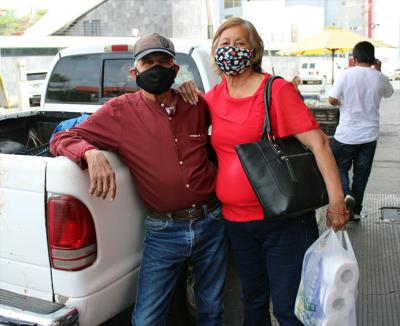 Mexican shoppers