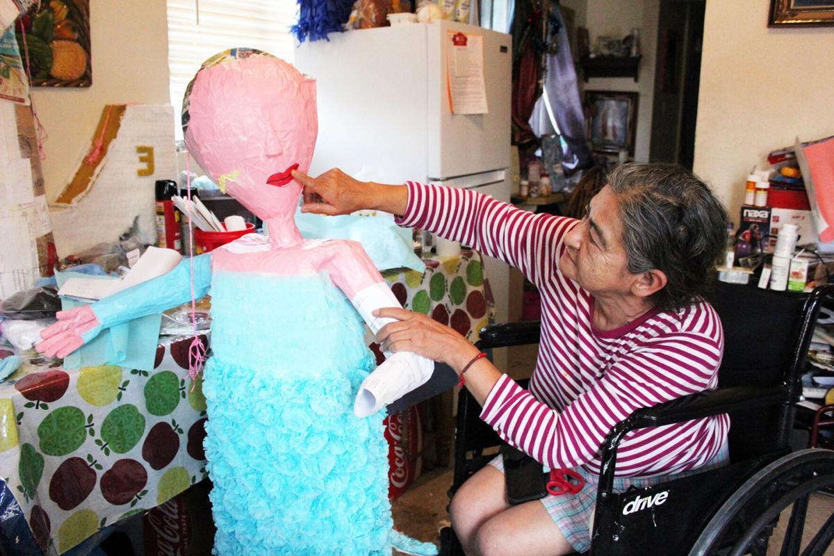 Piñata maker- Yolanda Rodriguez