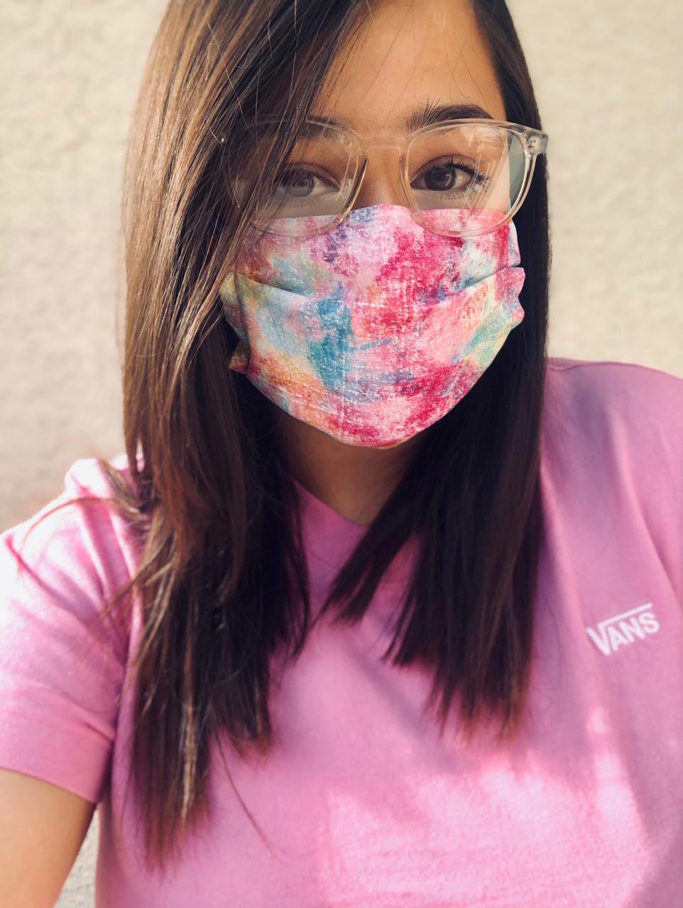 Marysol Valenzuela face mask