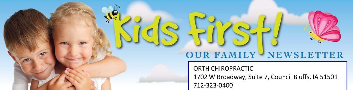 Kids First! Newsletter Header