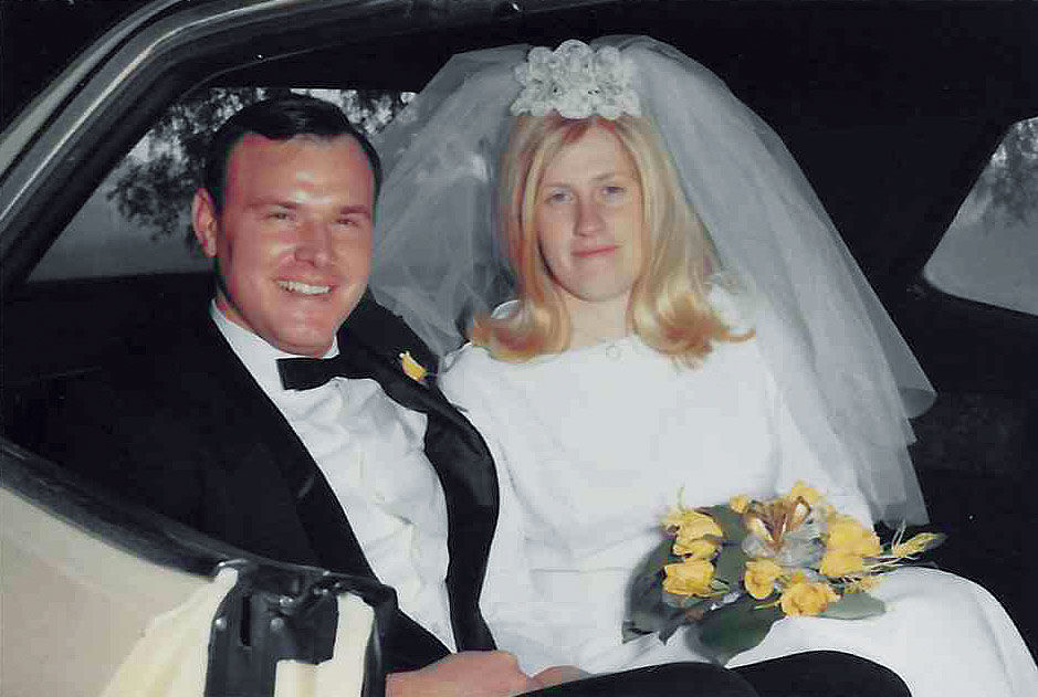 50th Anniversary: Dennis and Barbara Teymer Then