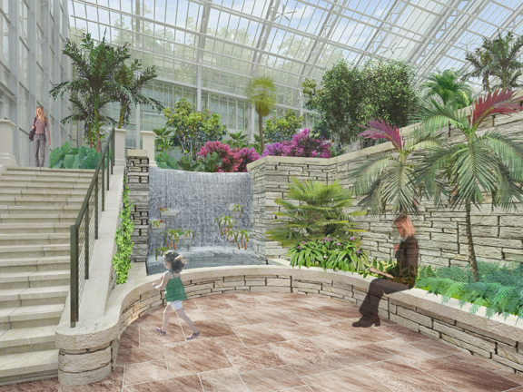 Lauritzen Gardens - Omaha Botanical Center  Lauritzen Gardens Wedding