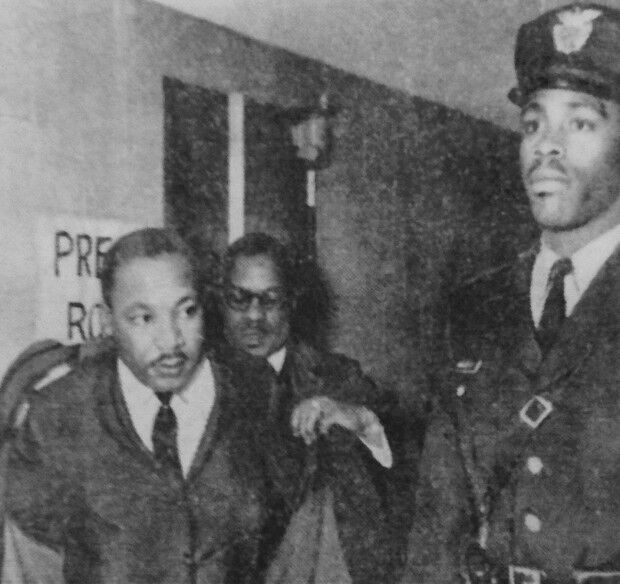Martin Luther King and Albert Maxey