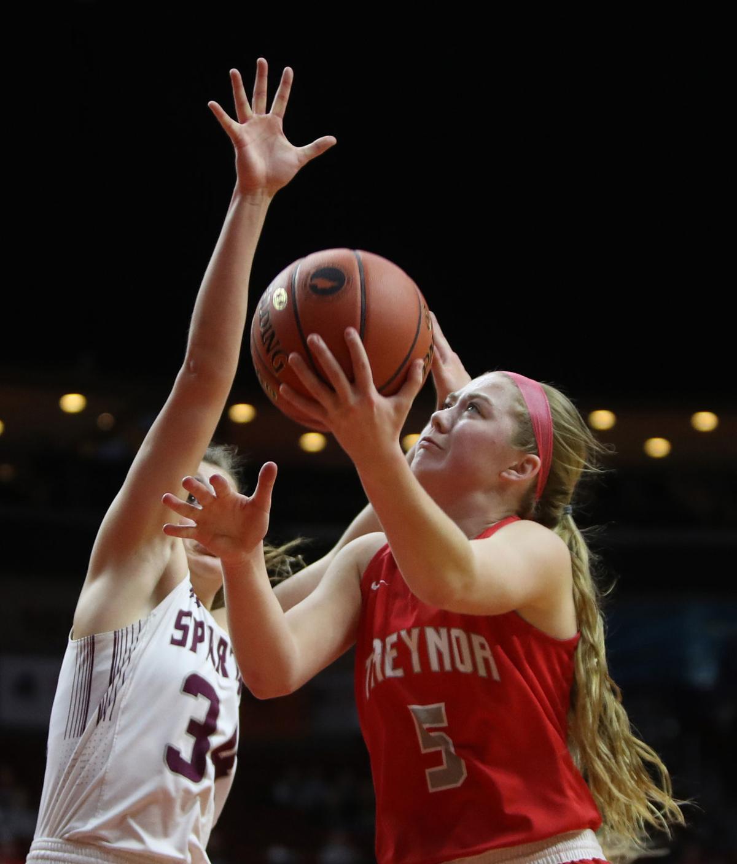 Treynor vs Grundy Center, Girls State Basketball, 2A Championshi
