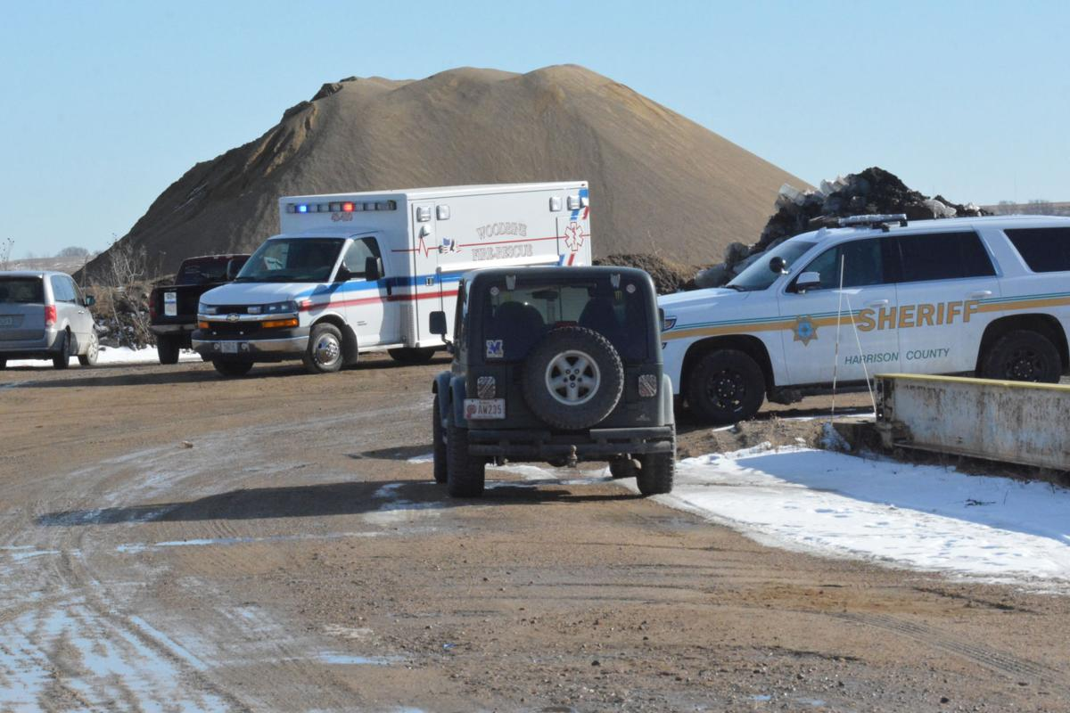 Authorities work to recover body from truck submerged in