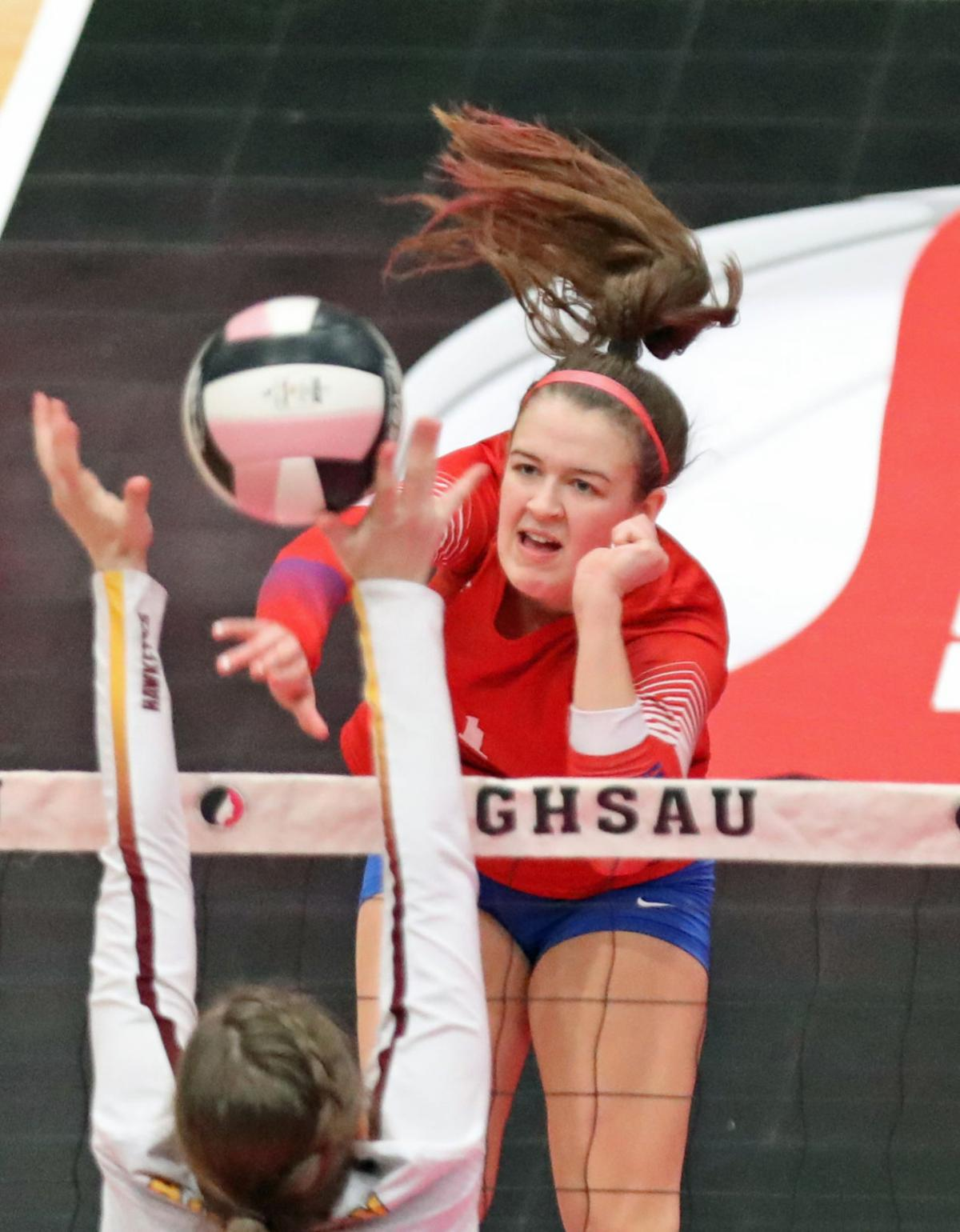 Council Bluffs Abraham Lincoln vs Ankeny, Voleyball