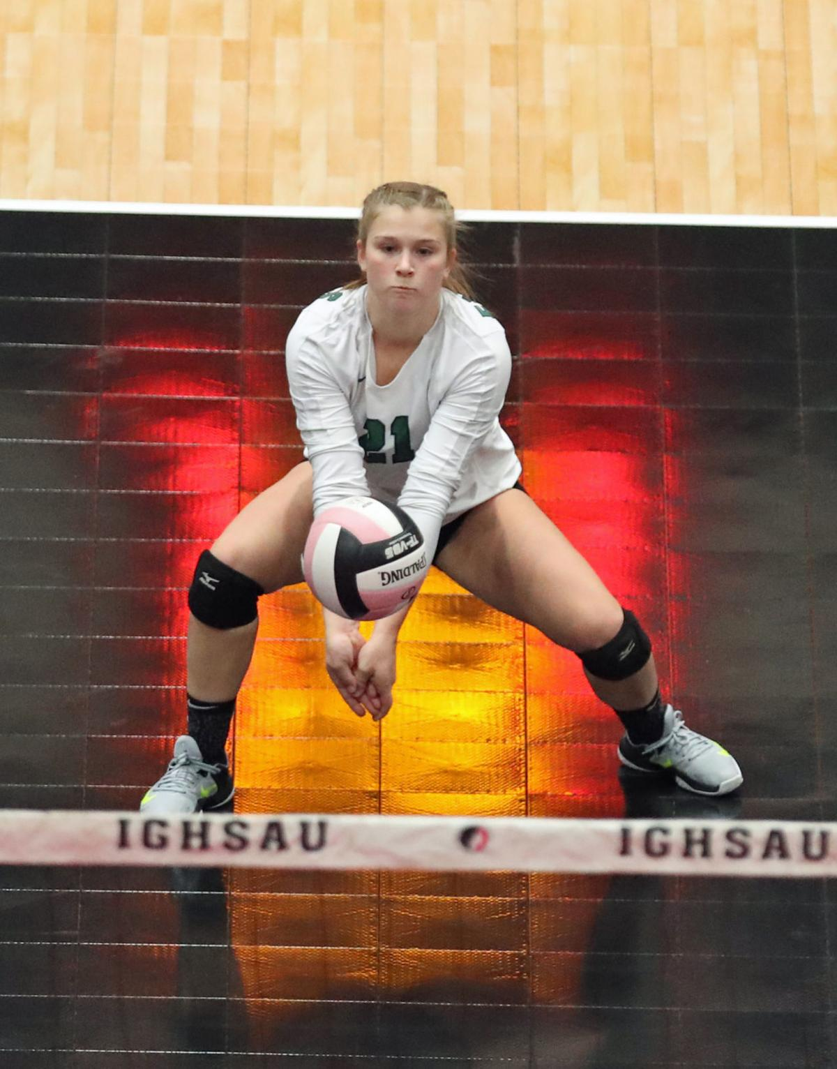 East Mills vs Gehlen Catholic, 1A State Volleyball ,Quarter Fina