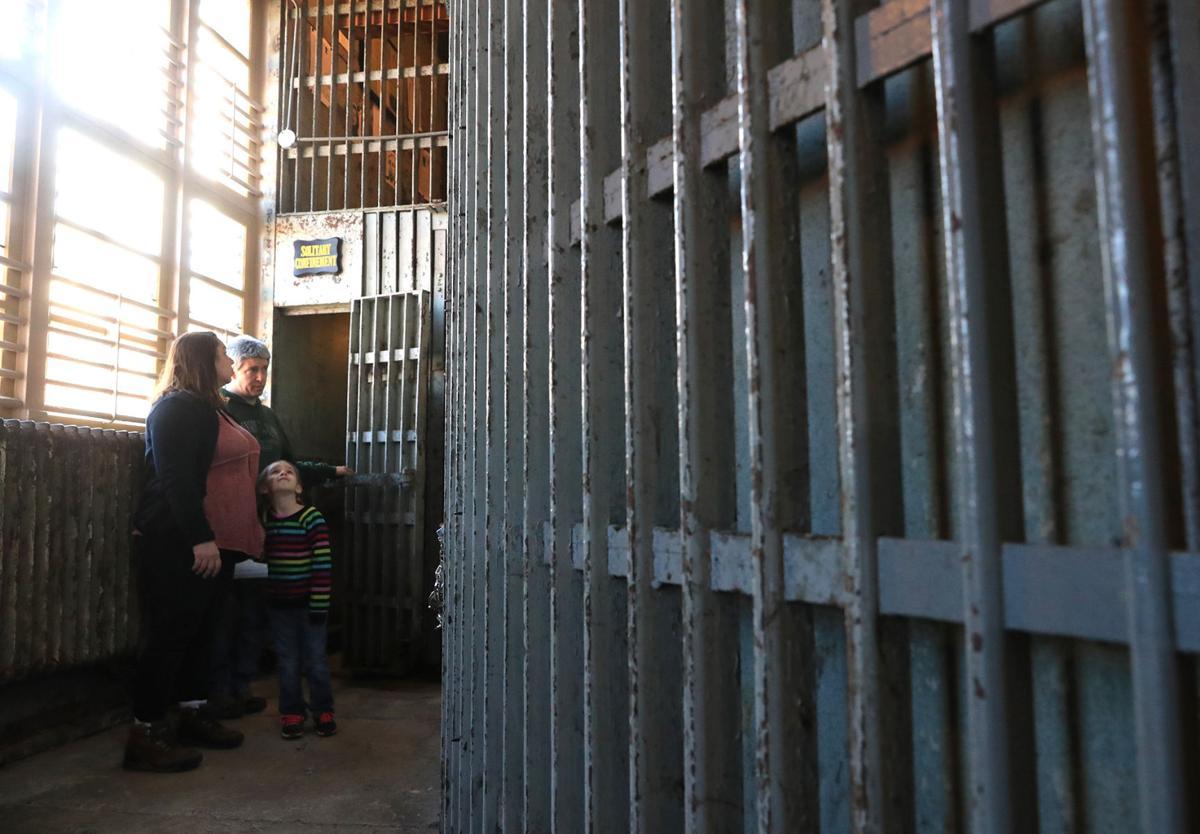 Pottawattamie County Squirrel Cage Jail