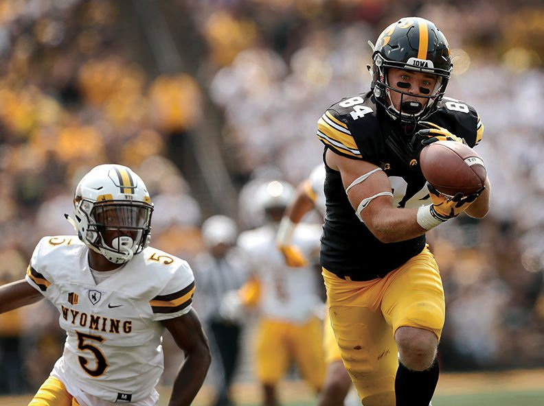QB Josh Allen and Wyoming visit Iowa in opener
