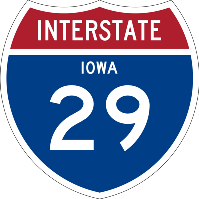 I29 graphic interstate 29 graphic