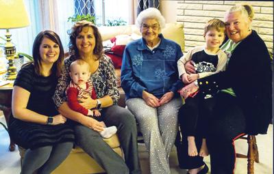Five Generations: Hanneman Family