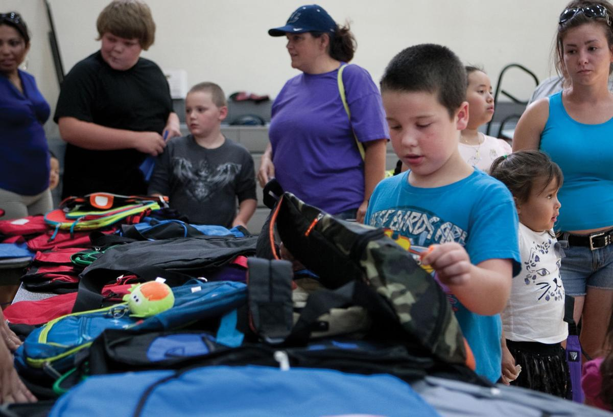 Lakin Campus offers free backpacks, school supplies | Local