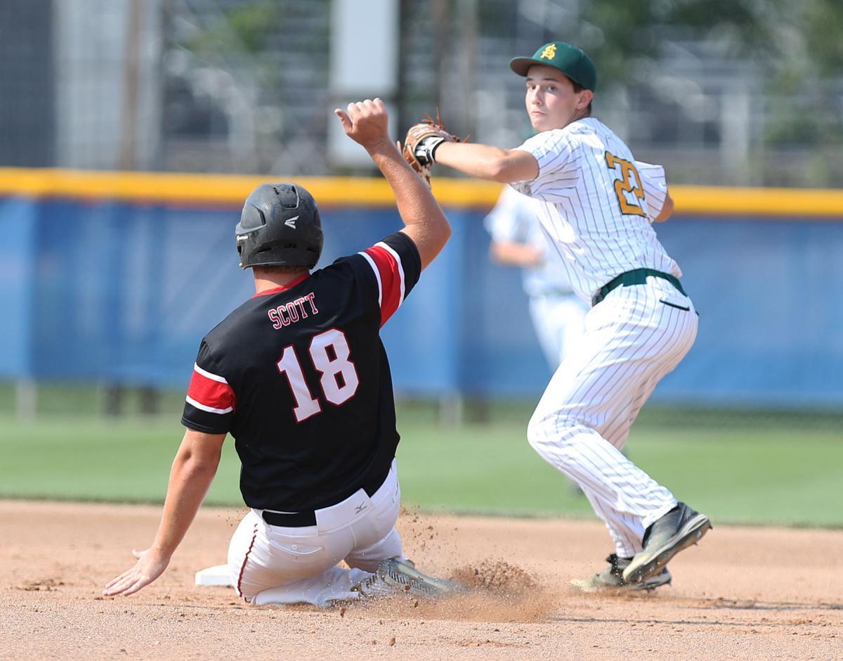 Colton Brennan, Council Bluffs St. Albert vs Lisbon, State Baseball, 1A Quarterfinal