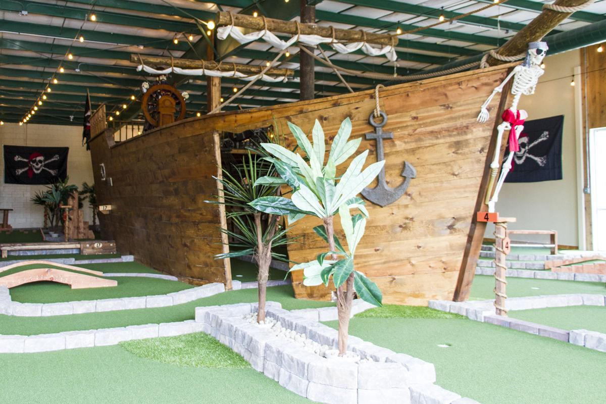 New Pirate Themed Mini Golf Course A Good Place To Avoid Shivering