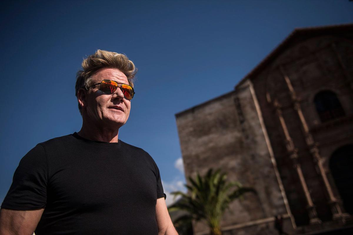 With 'Uncharted,' Gordon Ramsay proves he's indeed no Anthony Bourdain. At least not yet.