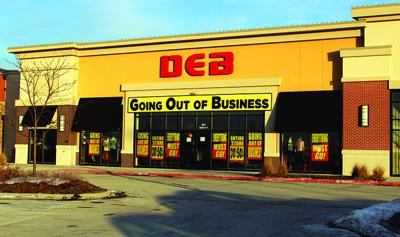 dc5efc17a8b Deb shops goes out of business  Bluffs store to close