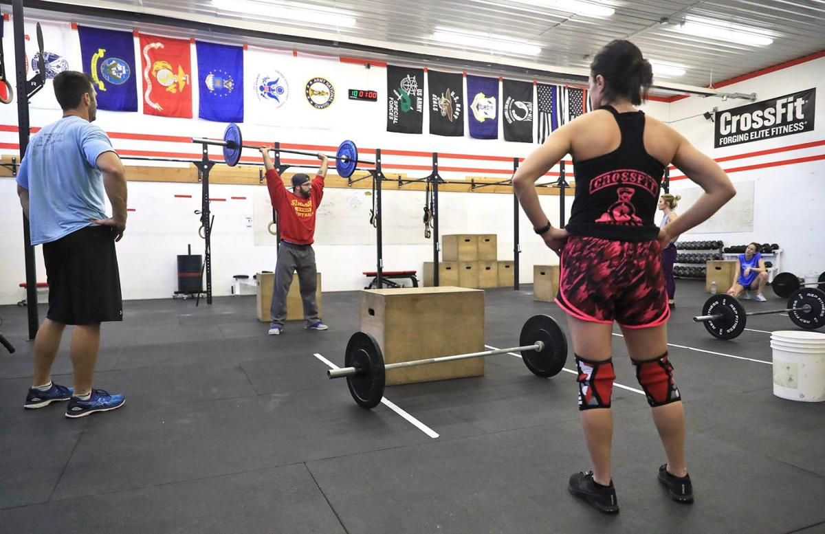 Council Bluffs Crossfit works to build strength, community