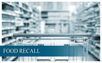 Food recall graphic
