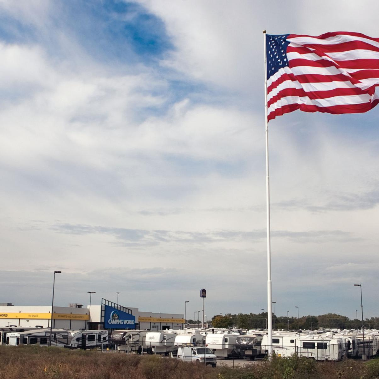 Camping World Council Bluffs >> New Flag Flies On North Side Of Interstate 29 80 Local