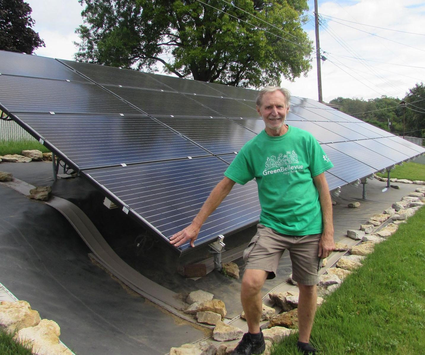This Nebraska man doesn't use gasoline or pay for electricity and hasn't set out trash for 3 years