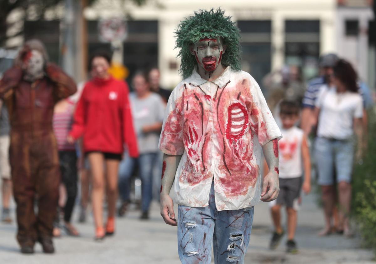Dress like a zombie and go for a walk