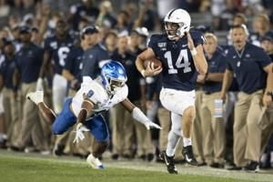 No. 13 Penn State going for 3 in a row in rivalry with Pitt