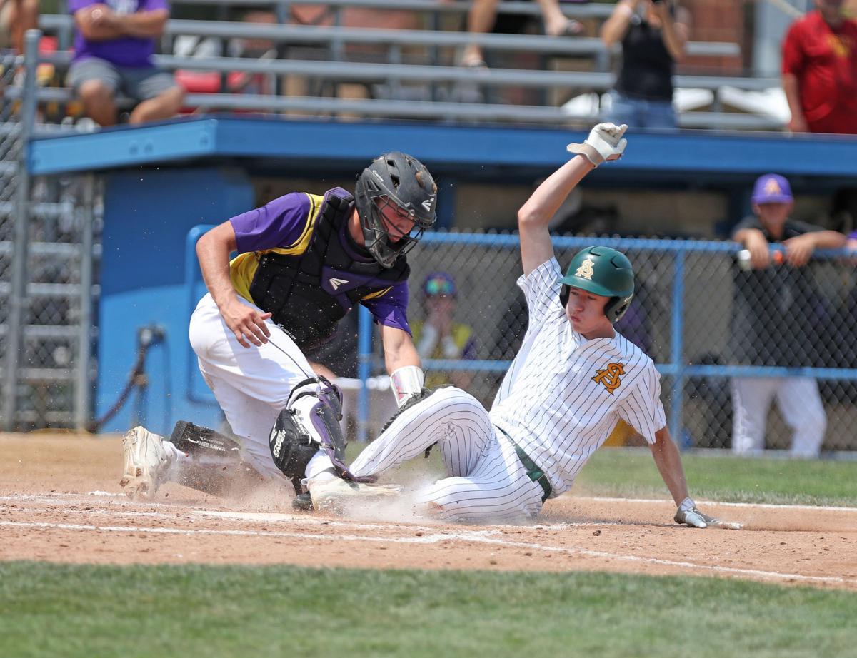 Carter White, Council Bluffs St. Albert vs Alburnett, State Baseball, 1A Semifinal