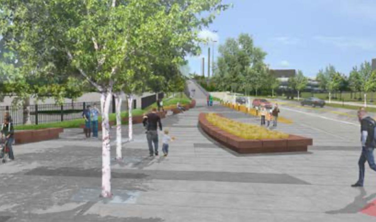 Pedestrian Bridge project