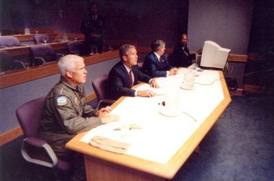 President Bush made key 9/11 decision inside an Offutt Air
