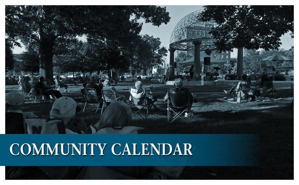 community calendar graphic