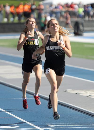 Janette Schraft, Glenwood, 800m, State Track, Drake Stadium, Des