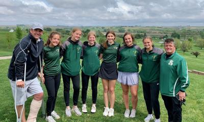 St. Albert girls golf
