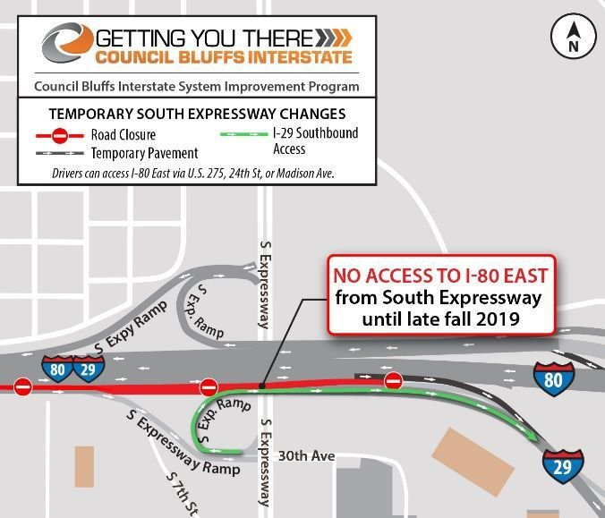 New traffic shift coming to I-80 eastbound Monday morning