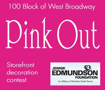 Vote for your favorite 100 Block storefront in the Pink Out contest