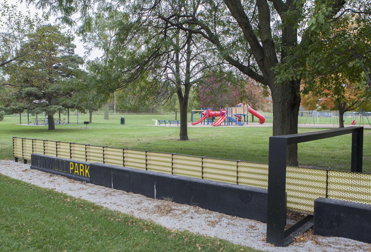 Council bluffs westwood park sign wins design award for Westwood park