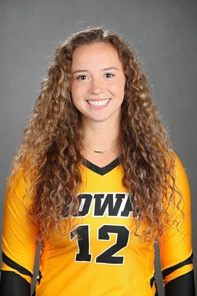 Iowa Volleyball Headshots