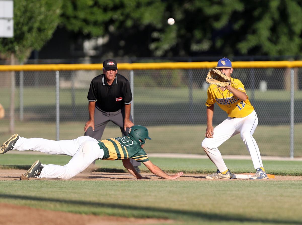 Council Bluffs St. Albert vs Martensdale-St. Marys, baseball