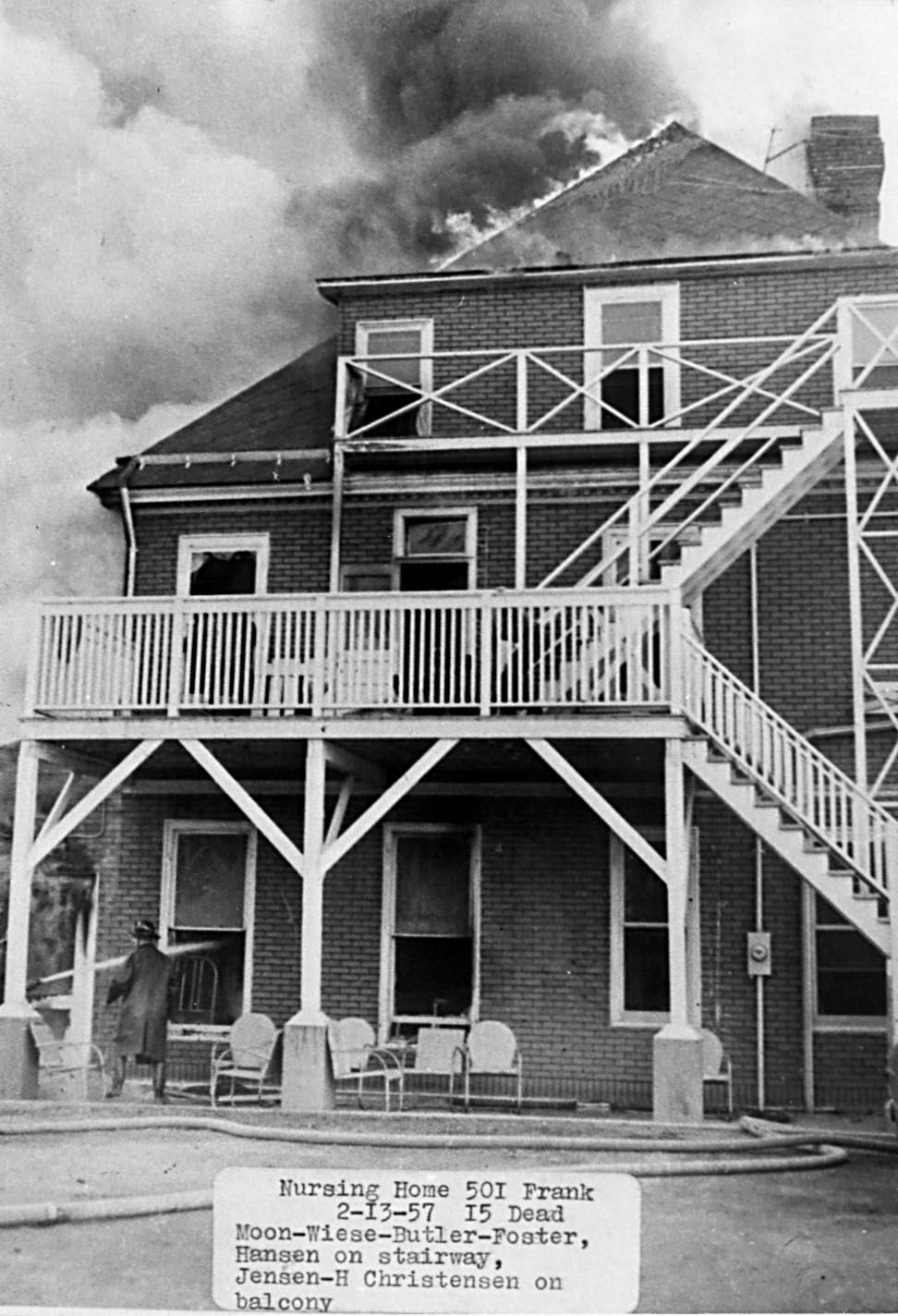 Convalescent Home fire of 1957