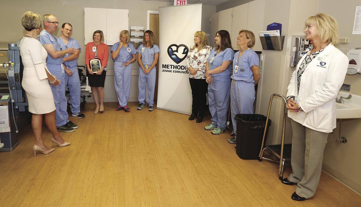 Methodist Jennie Edmundson Hospital Wound Center wins award