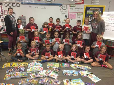 Second Grade Class Gets 500 Grant For Classroom Library Education