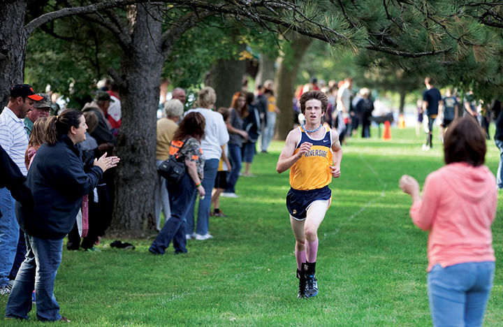 Riverside's Brink wins at Tri-Center cross country meet