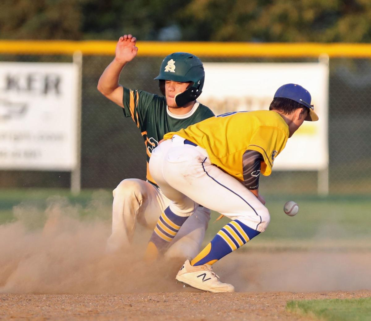 Council Bluffs St. Albert vs Martensdale-St. Marys, baseball