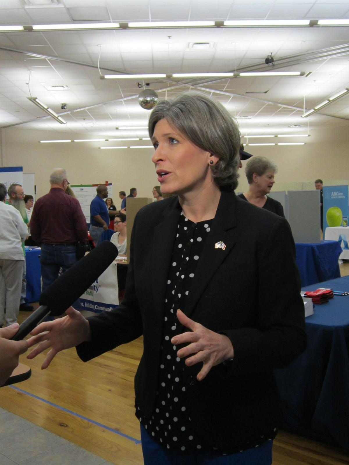 Joni Ernst by Courtney Durham
