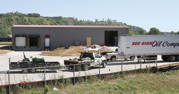 Red Giant Oil Co. expanding distribution facility - The ...