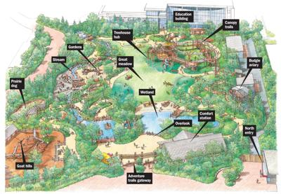 Omaha Zoo Map Opening Friday at the Omaha zoo: Children's Adventure Trails